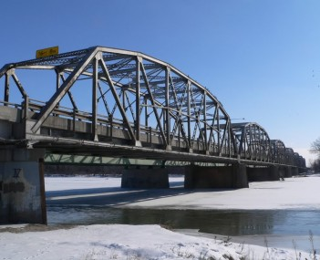 Columbus Loup River Bridge from NW 1