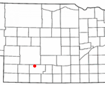 Location of Curtis, Nebraska