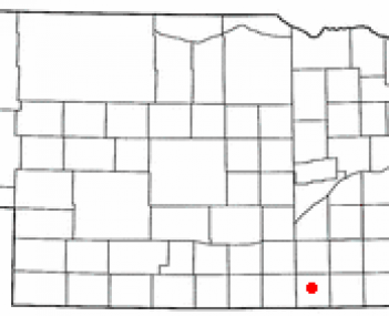 Location of Nelson, Nebraska