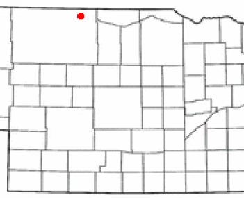 Location of Valentine, Nebraska
