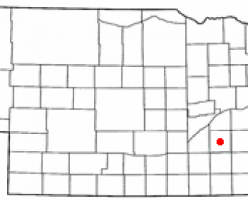 Location of York, Nebraska