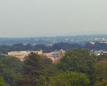 Flemington from Prospect Hill, looking southeast