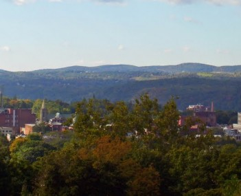 Poughkeepsie from College Hill