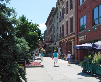 Downtown Saratoga Springs