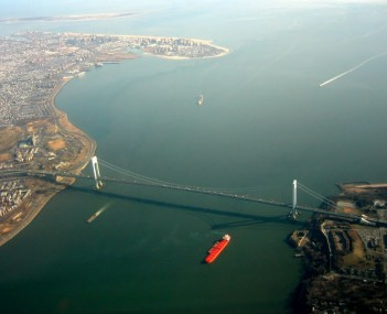Verrazano Narrows Bridge aerial 2003