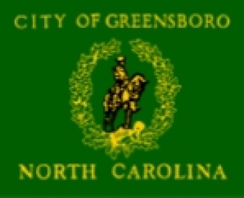 Flag for Greensboro