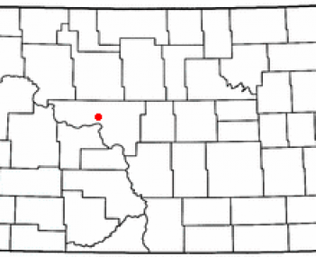 Location of Garrison, North Dakota