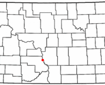 Location of Mandan, North Dakota