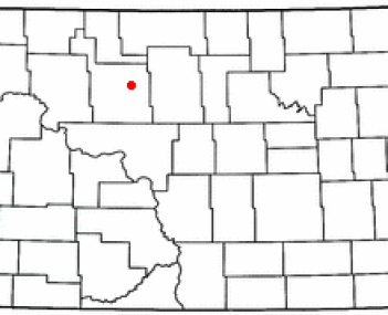 Location in North Dakota
