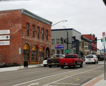 Pacific Avenue in downtown