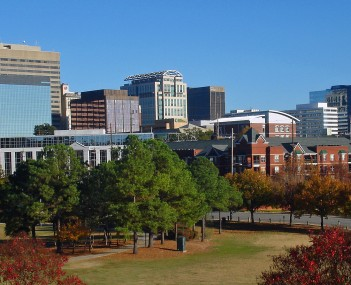 Skyline of downtown Columbia