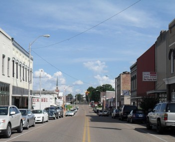 Main Street looking Southeast