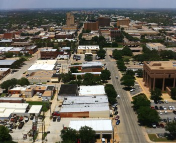 Downtown Abilene in 2015