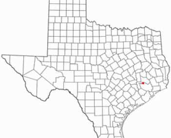 Location of Tomball, Texas