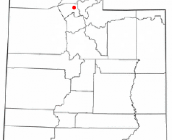 Location of Layton, Utah