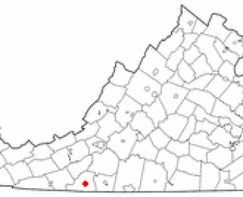Location of Stuart, Virginia
