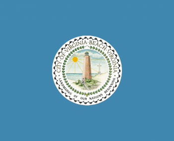 Flag for Virginia Beach