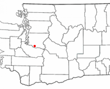 Location of Enumclaw, Washington