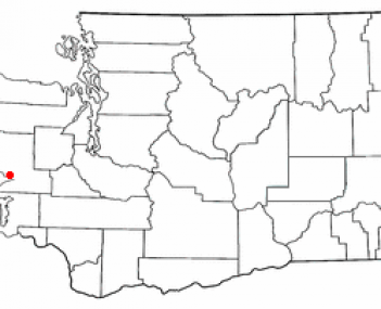 Location of Hoquiam, Washington