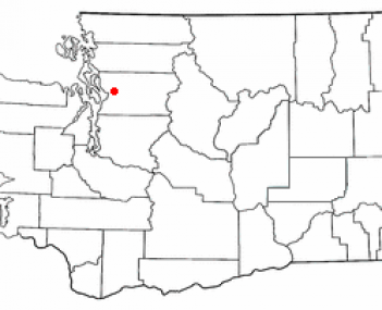 Location of Marysville, Washington