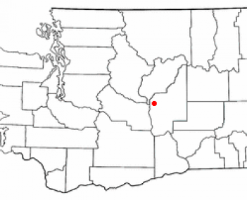 Location of Quincy, Washington