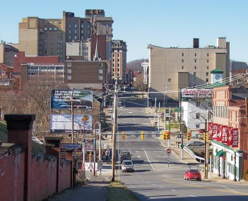 Downtown Clarksburg in 2006