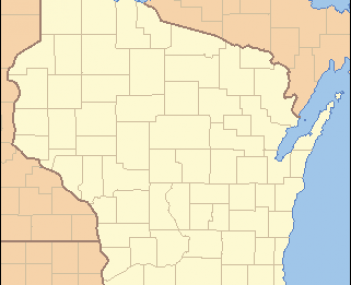 Location of Wiota within Wisconsin