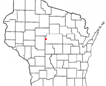Location of Colby, Wisconsin