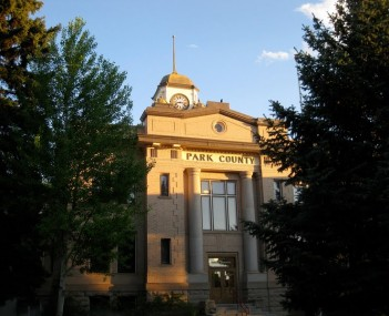 Park county wyoming courthouse