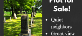 Selling a Burial Plot Online