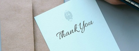 How to Write a Thank You Note to a Funeral Home