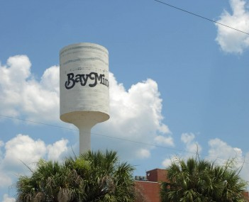 Watertower in Bay Minette, built in 1915