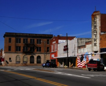 Downtown Roanoke Alabama