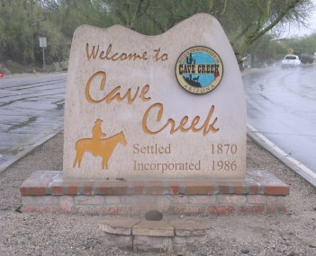 View of Cave Creek