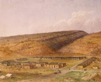 View of Fort Defiance