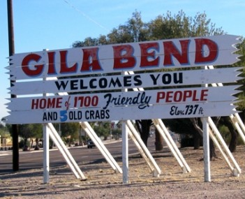 View of Gila Bend