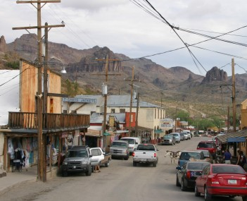 View of Oatman