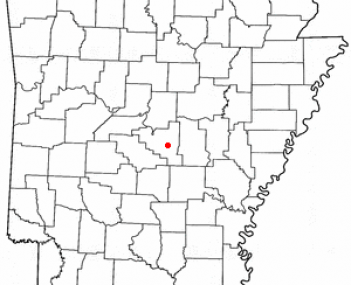 Location of College Station, Arkansas