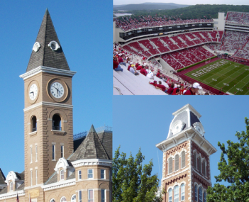 Fayetteville collage