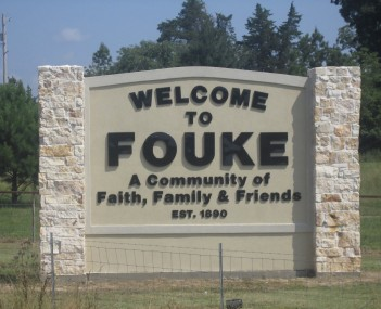 View of Fouke