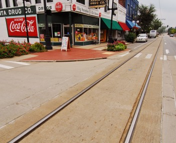 Downtown North Little Rock, known as Argenta, in September 2011