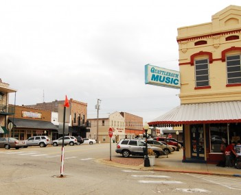 Part of historic downtown Searcy