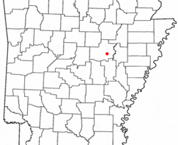 Location of West Point, Arkansas