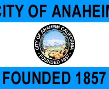 Location of Anaheim