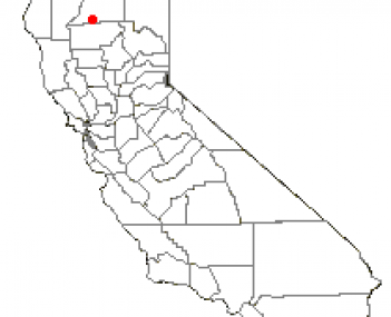 Location of Anderson, California