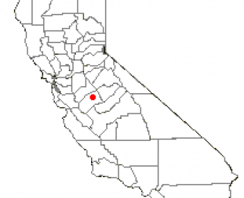 Location of Atwater, California