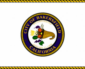 Flag for Bakersfield