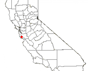 Location of Boulder Creek, California