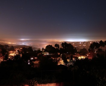Skyline view of Carlsbad