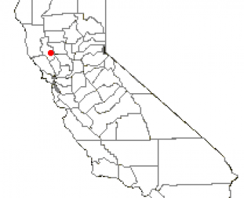 Location of Clearlake, California